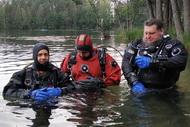 Вчера мы расширили наш полигон на учебно-тренировочной базе в ДЦ Пилигрим. Проложен маршрут на глубине 22м.